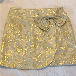 Skirt Ivory and Gold